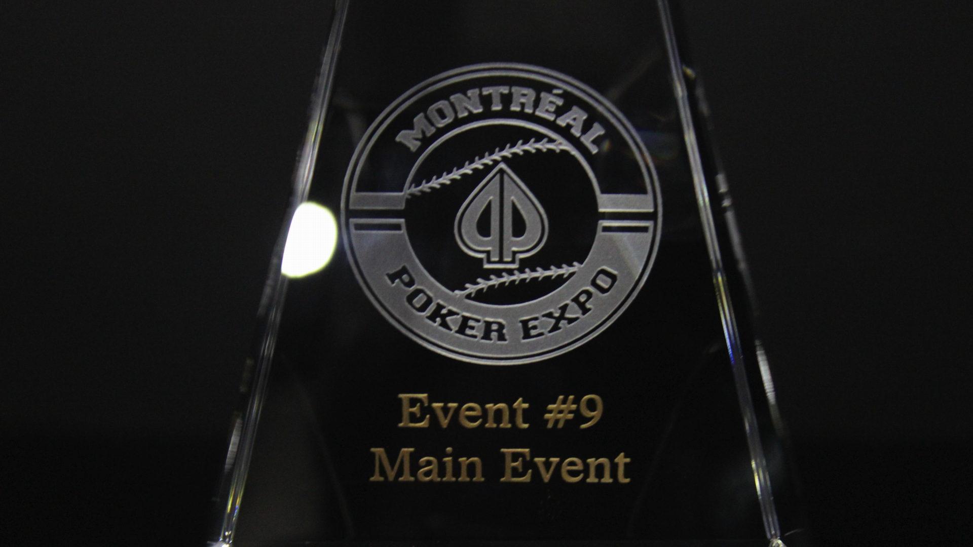 Montréal Poker Expo Trophies!