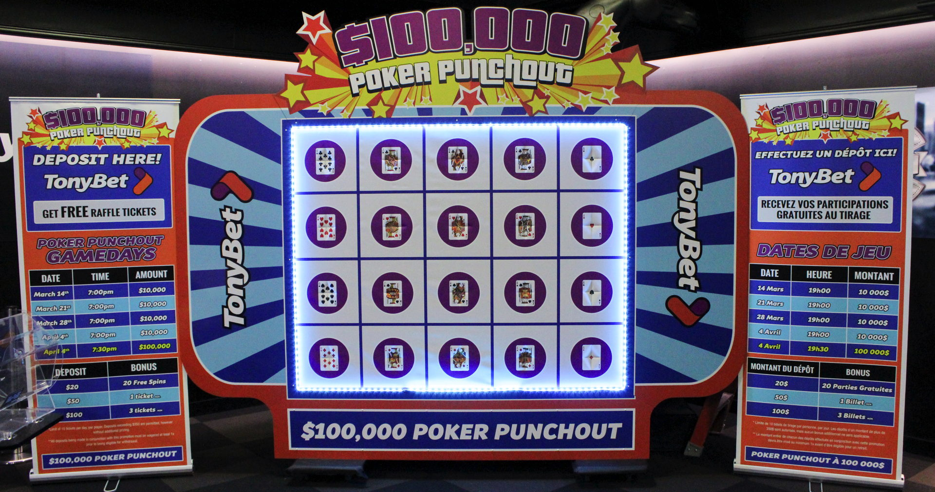Introducing… the $100,000 Poker Punchout!