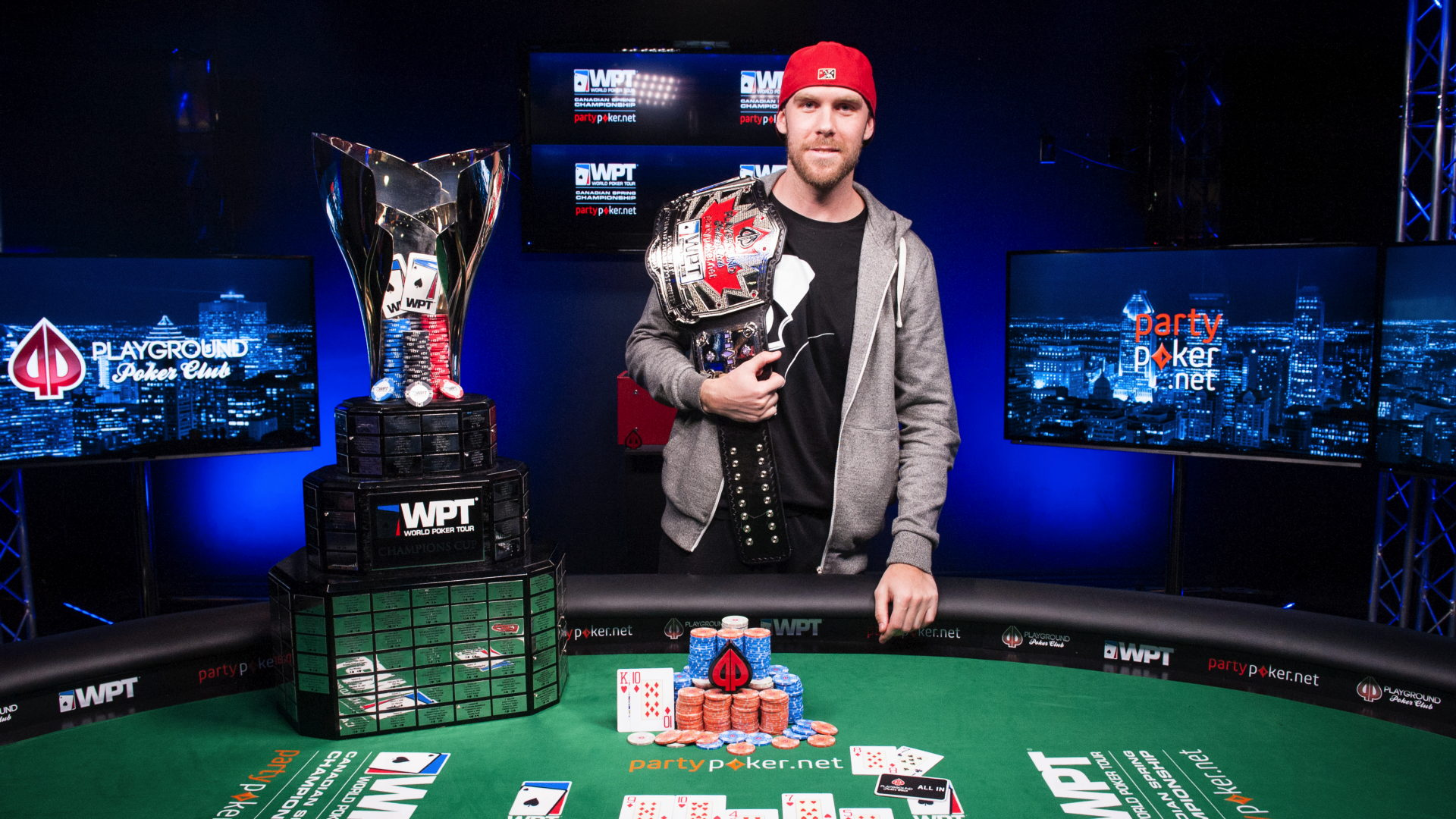 The 2016 WPT Canadian Spring Champion: Seth Davies!