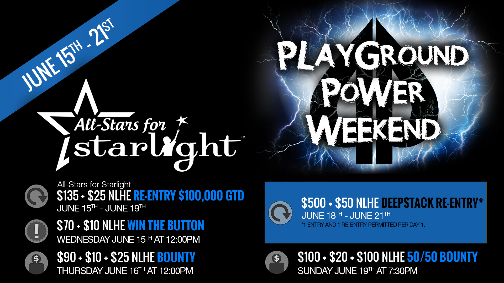 June's Power Weekend is just around the corner!