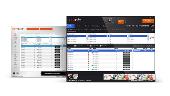 New and Improved Client Software available now from partypoker