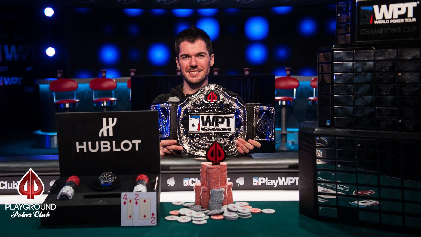2017 WPT Montreal Champion: Maxime Heroux