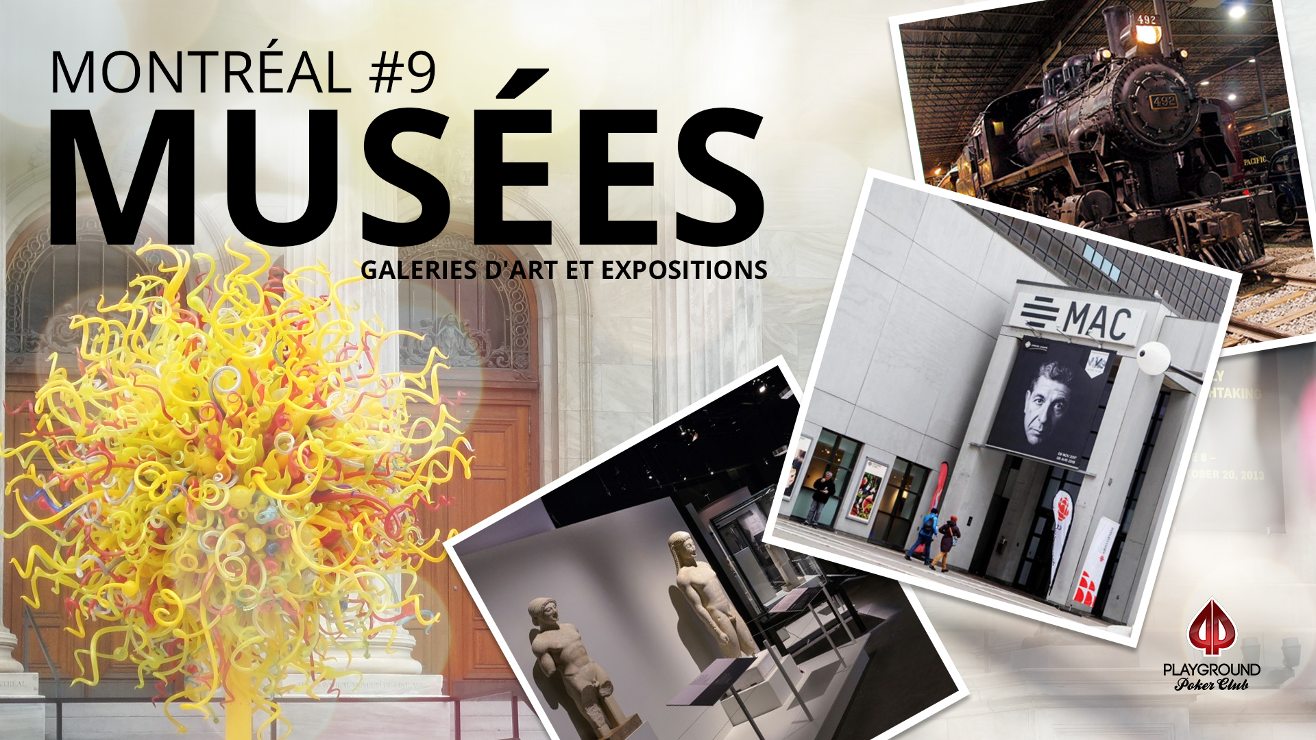 En 9ème place sur notre top 10: Musées, galleries d'art et expositions