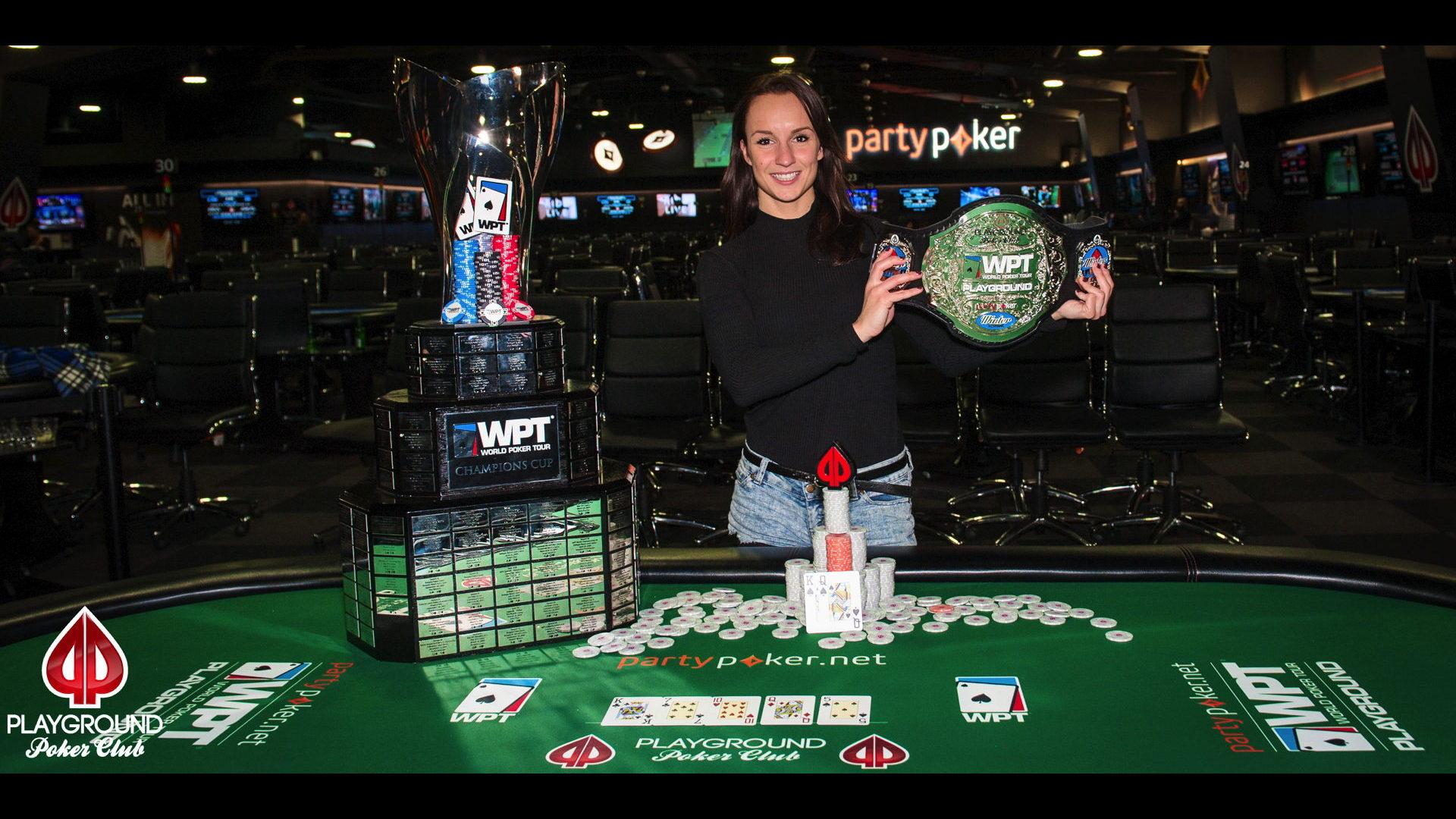 Ema Zajmovic makes history by winning WPT Playground!