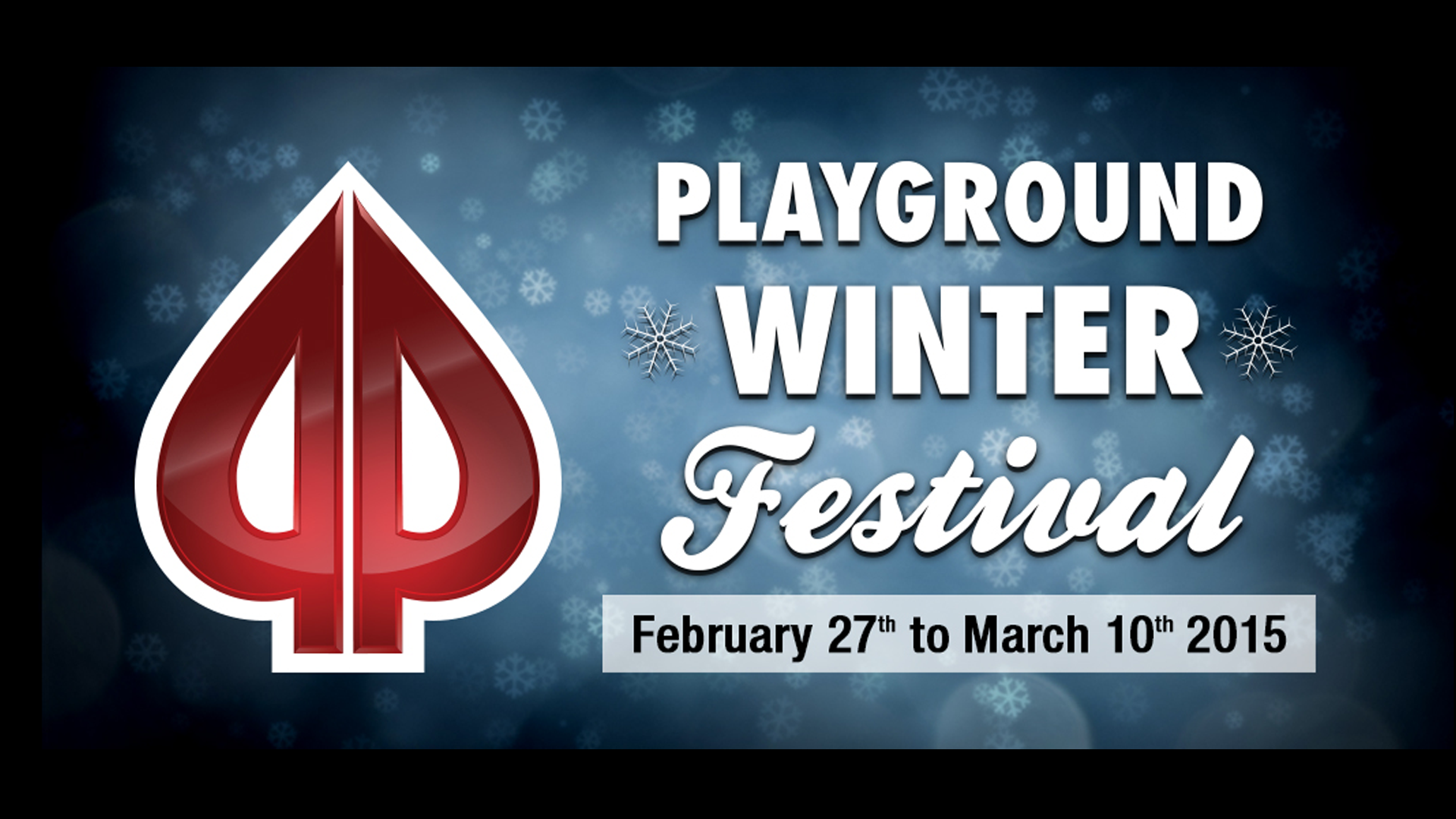 Keep the winter blues at bay with the Playground Winter Festival!