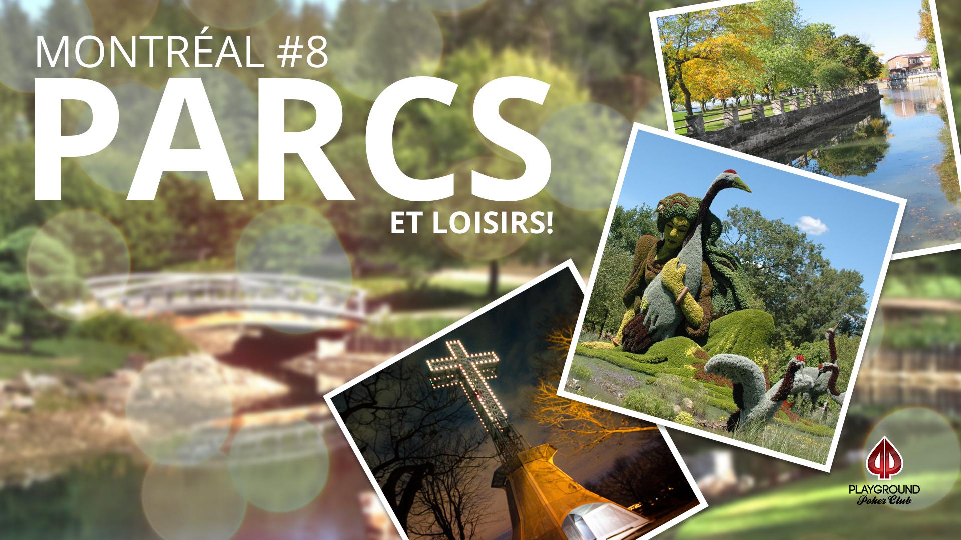 En 8e place sur notre Top 10: Parcs et loisirs