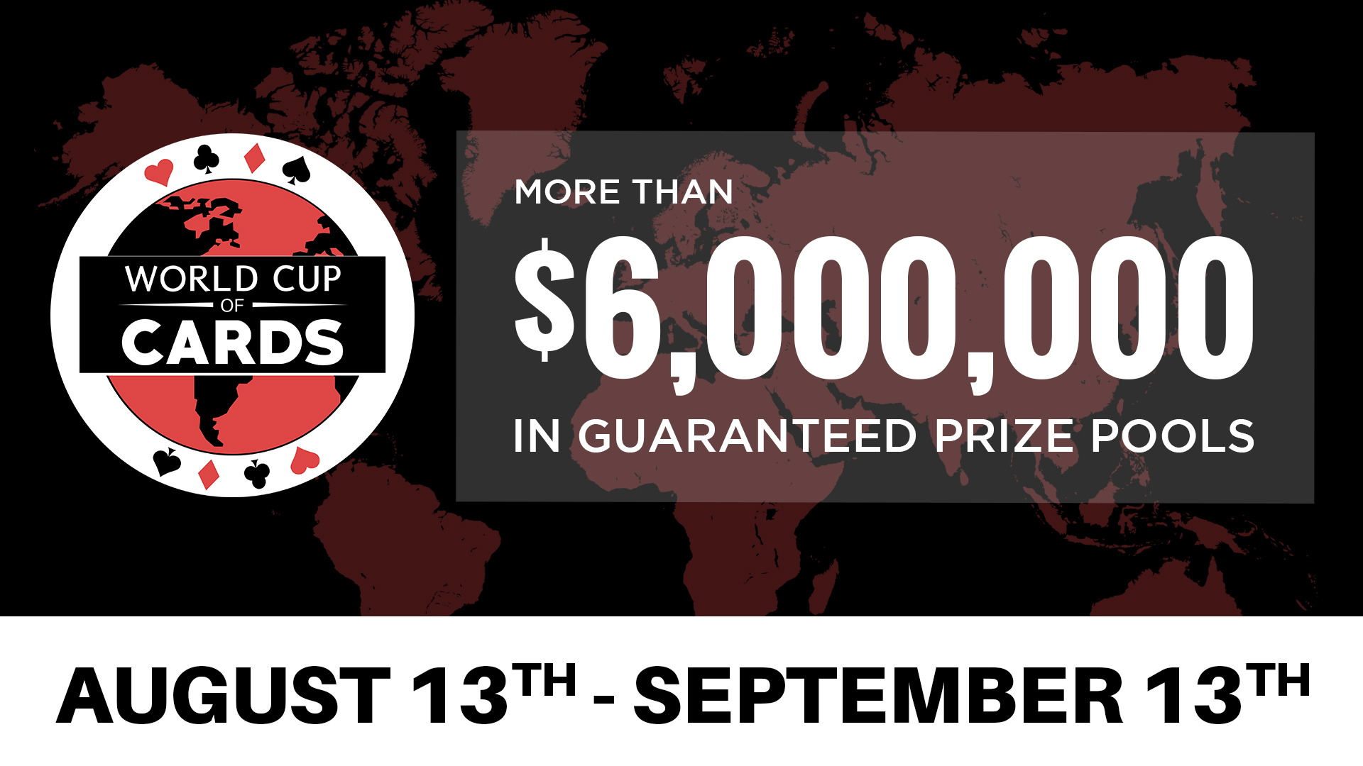 The World Cup of Cards returns to Playground Poker Club