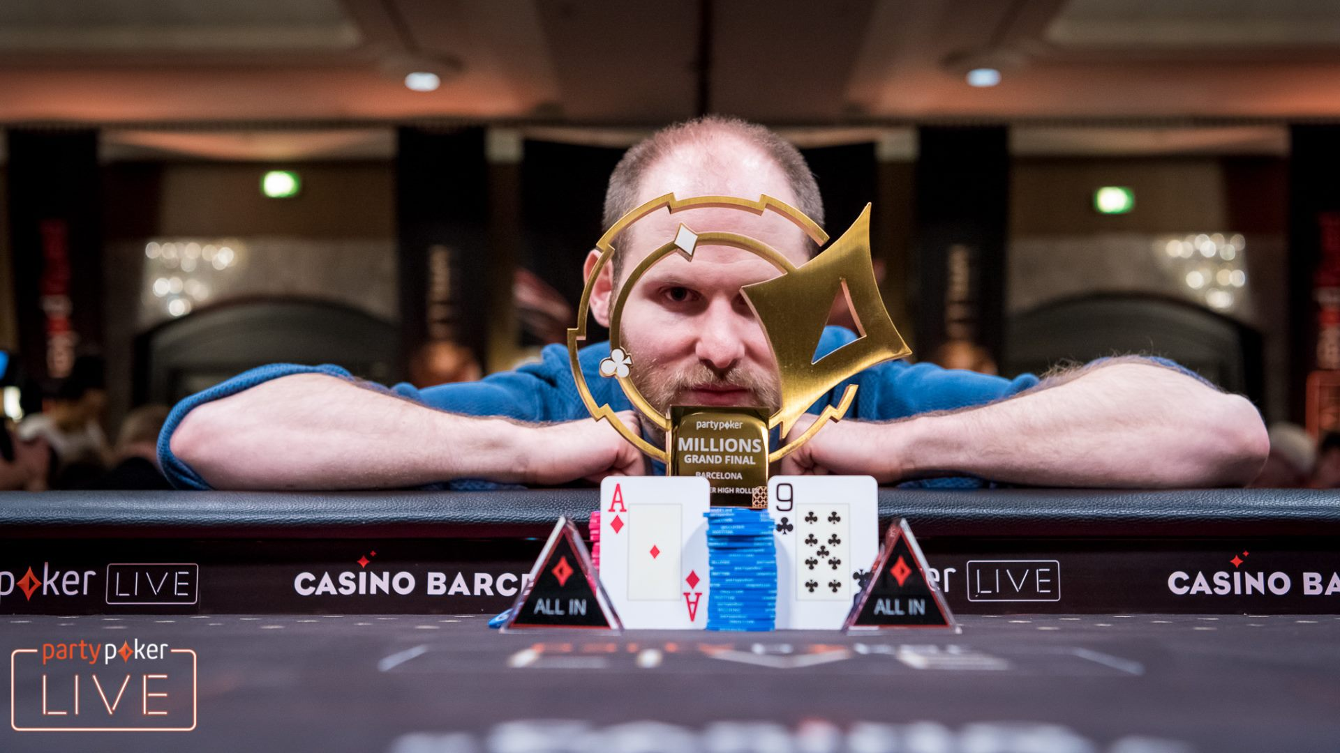 Sam Greenwood comes back to win the MILLIONS Barcelona €50,000 Super High Roller!