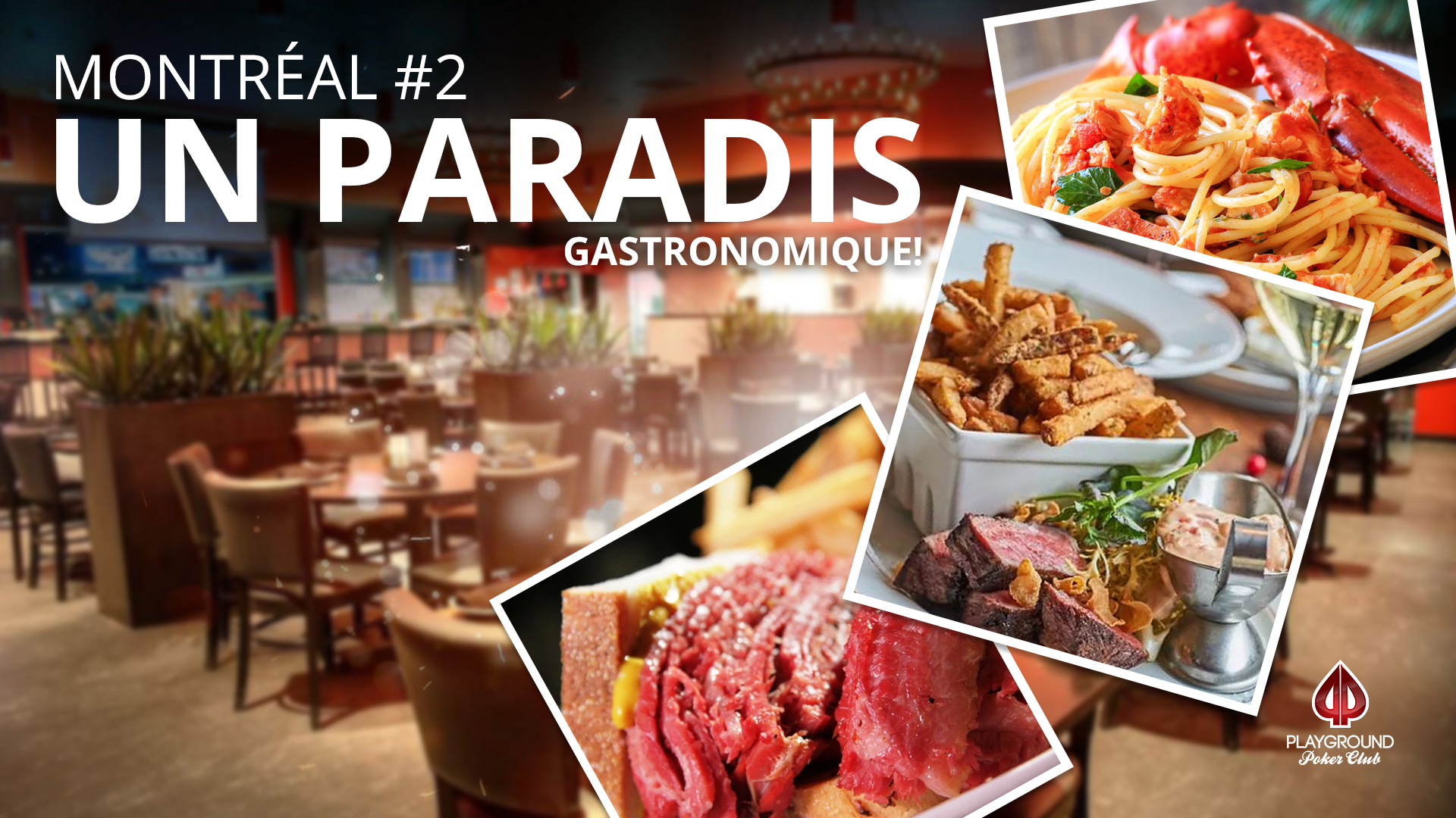En 2e place sur notre Top 10 – Montréal: Un paradis gastronomique!