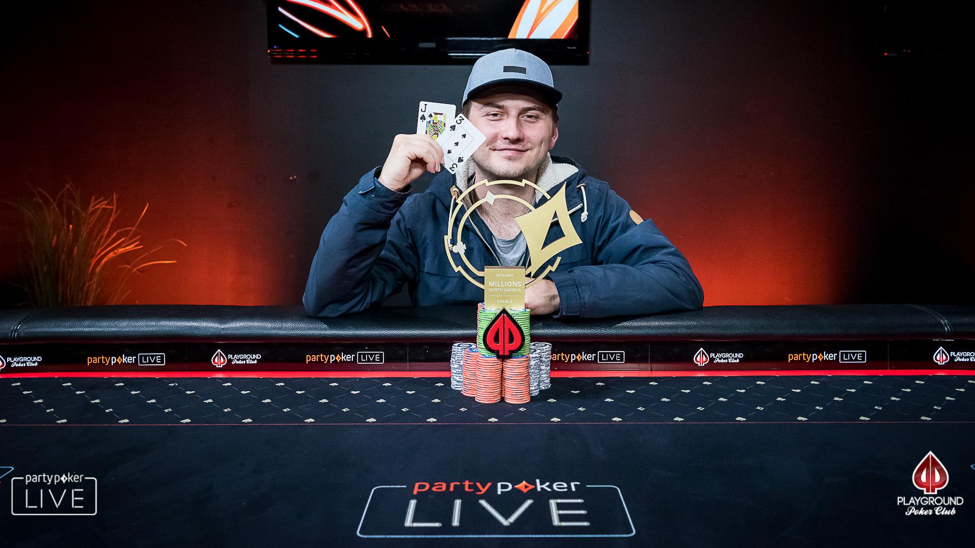 Our MILLIONS Finale champion: Michael Sklenicka