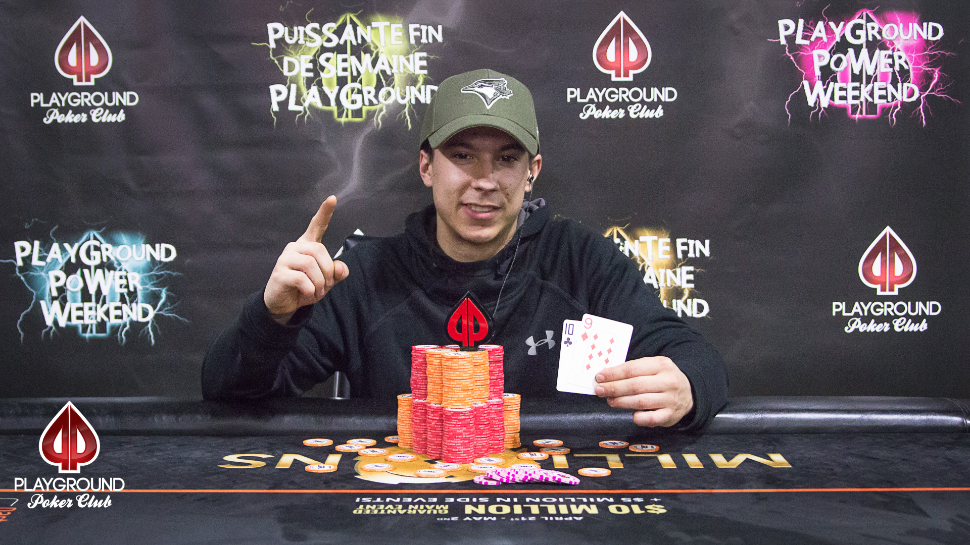 Our 50/50 Bounty Champion: Martin Dufour