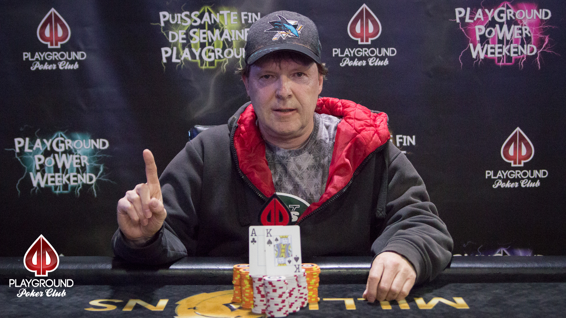 Event #8 Champion: Normand Plessis Belair