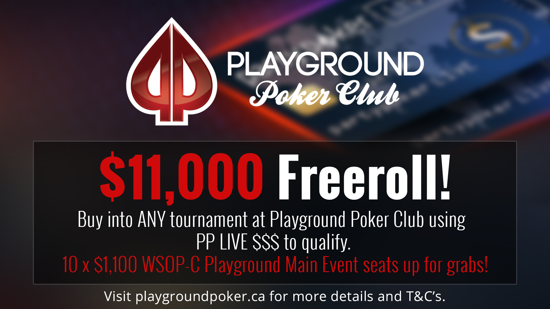 Play the WSOP-C Main Event for FREE!