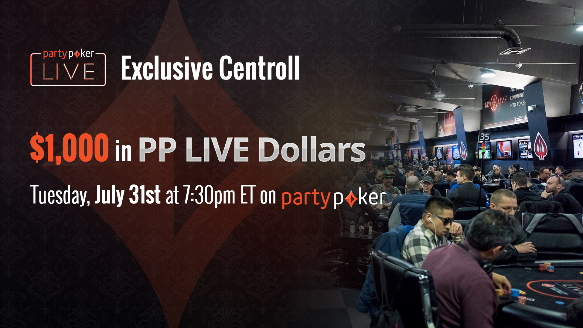 Play the Members Centroll tonight at 7:30pm EDT