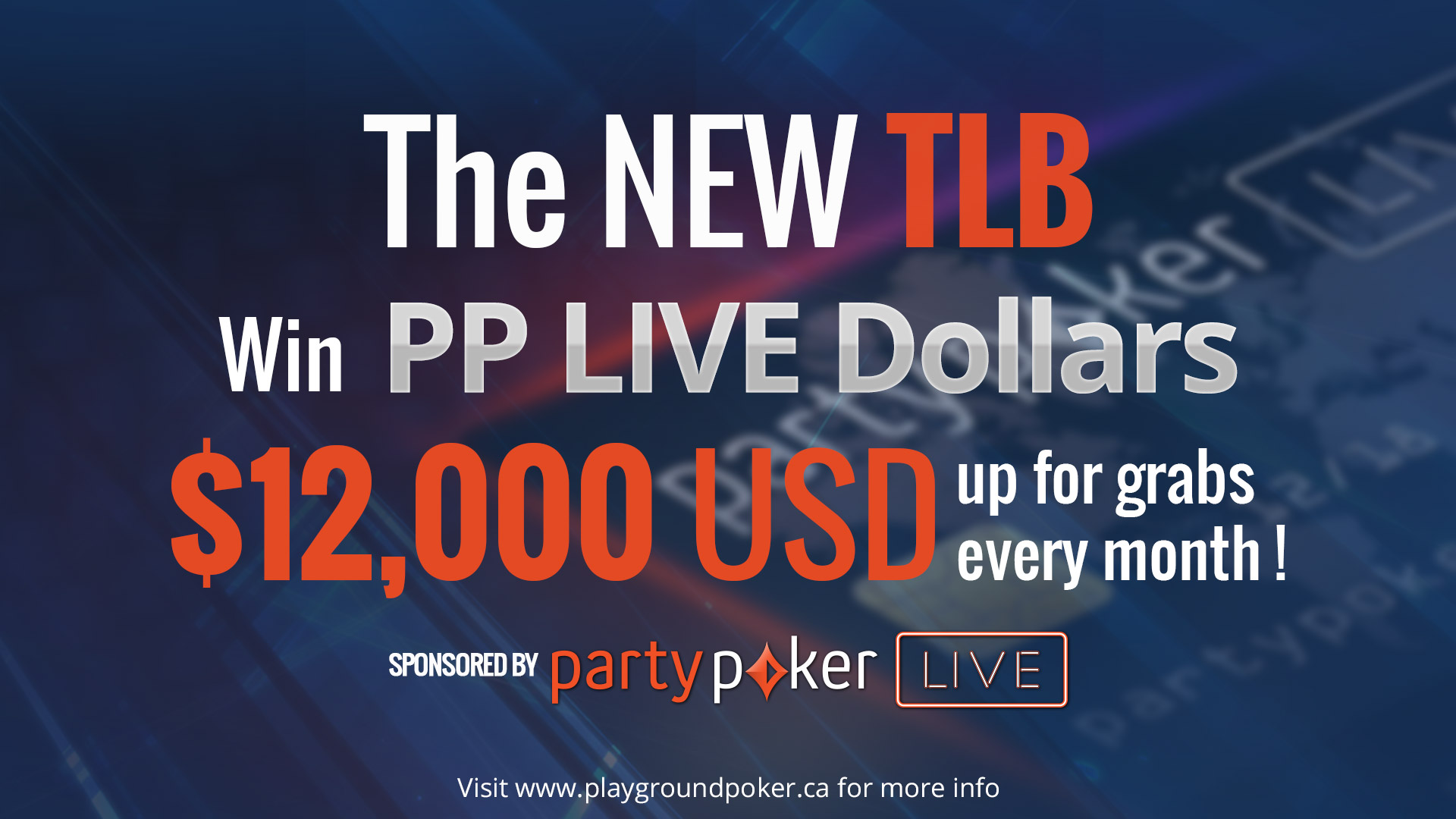 The Playground TLB – now brought to you by partypoker LIVE