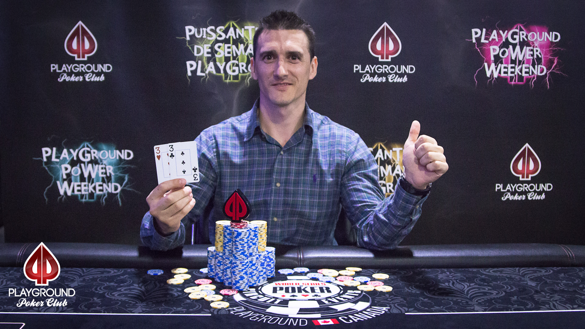 The Champion of Event 3: Andrei Cernopolc