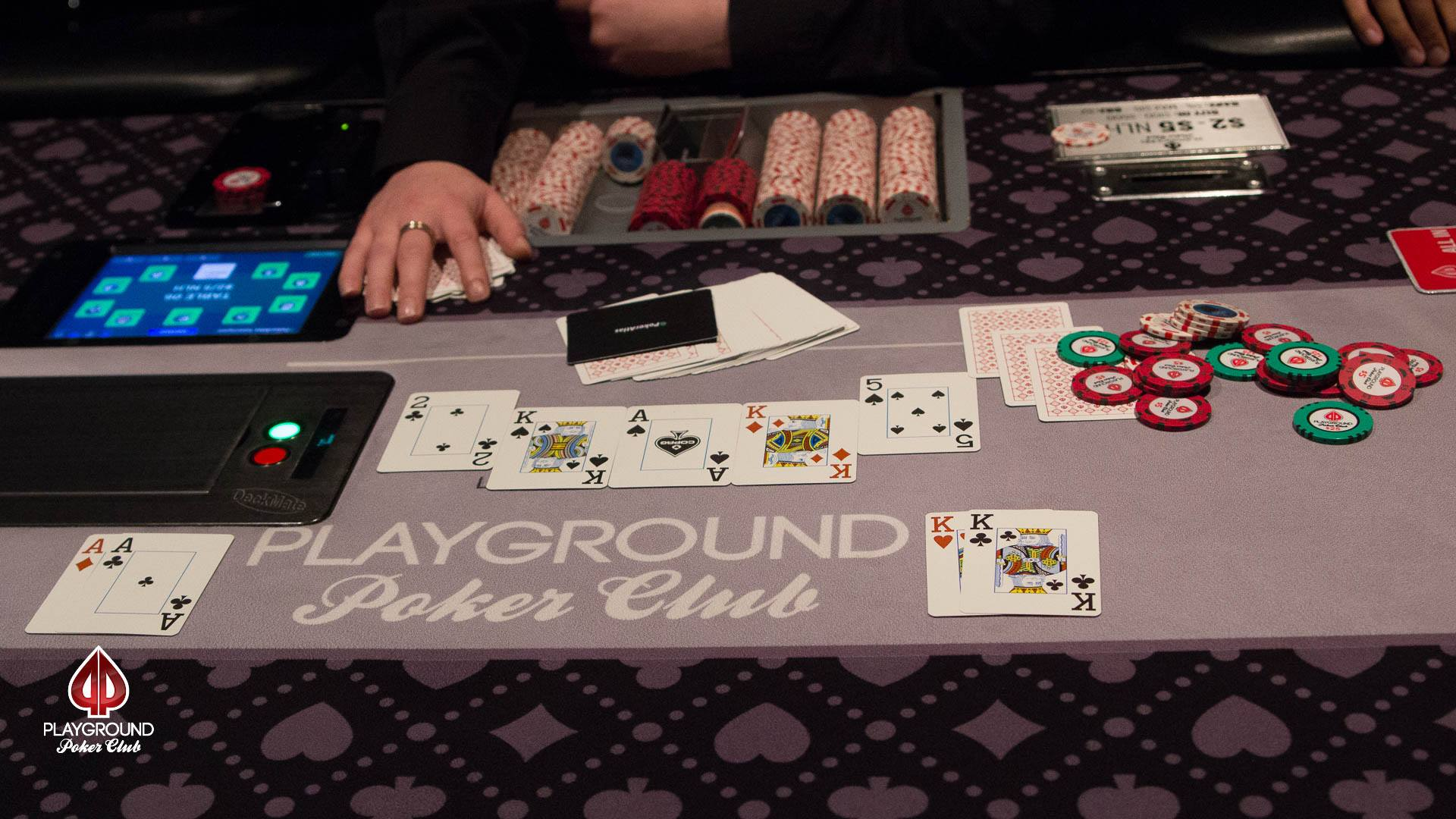 A secondary BBJ hits during the WSOP-C