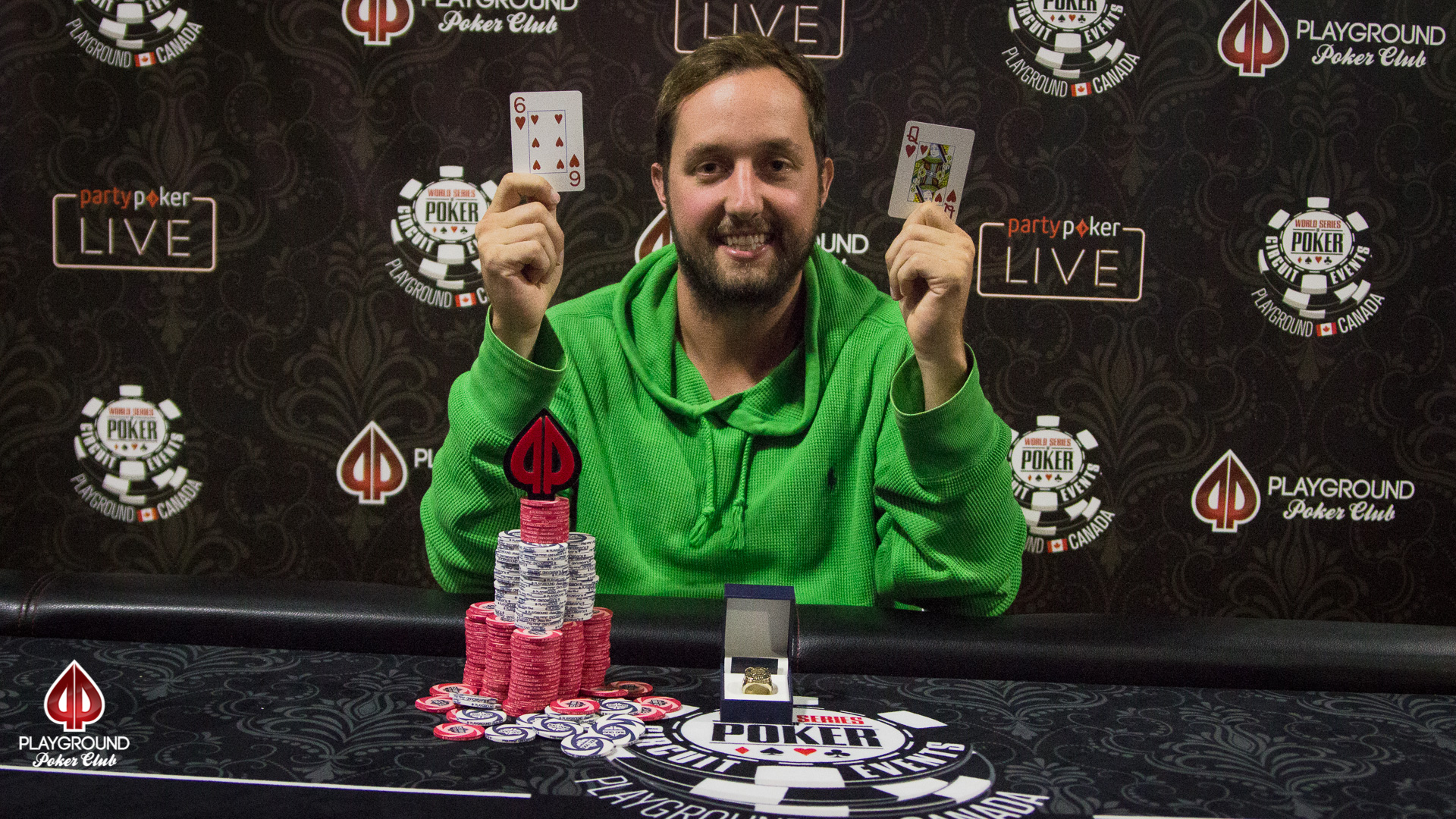 Carpentier-Perrault is the Super High Roller Champ!