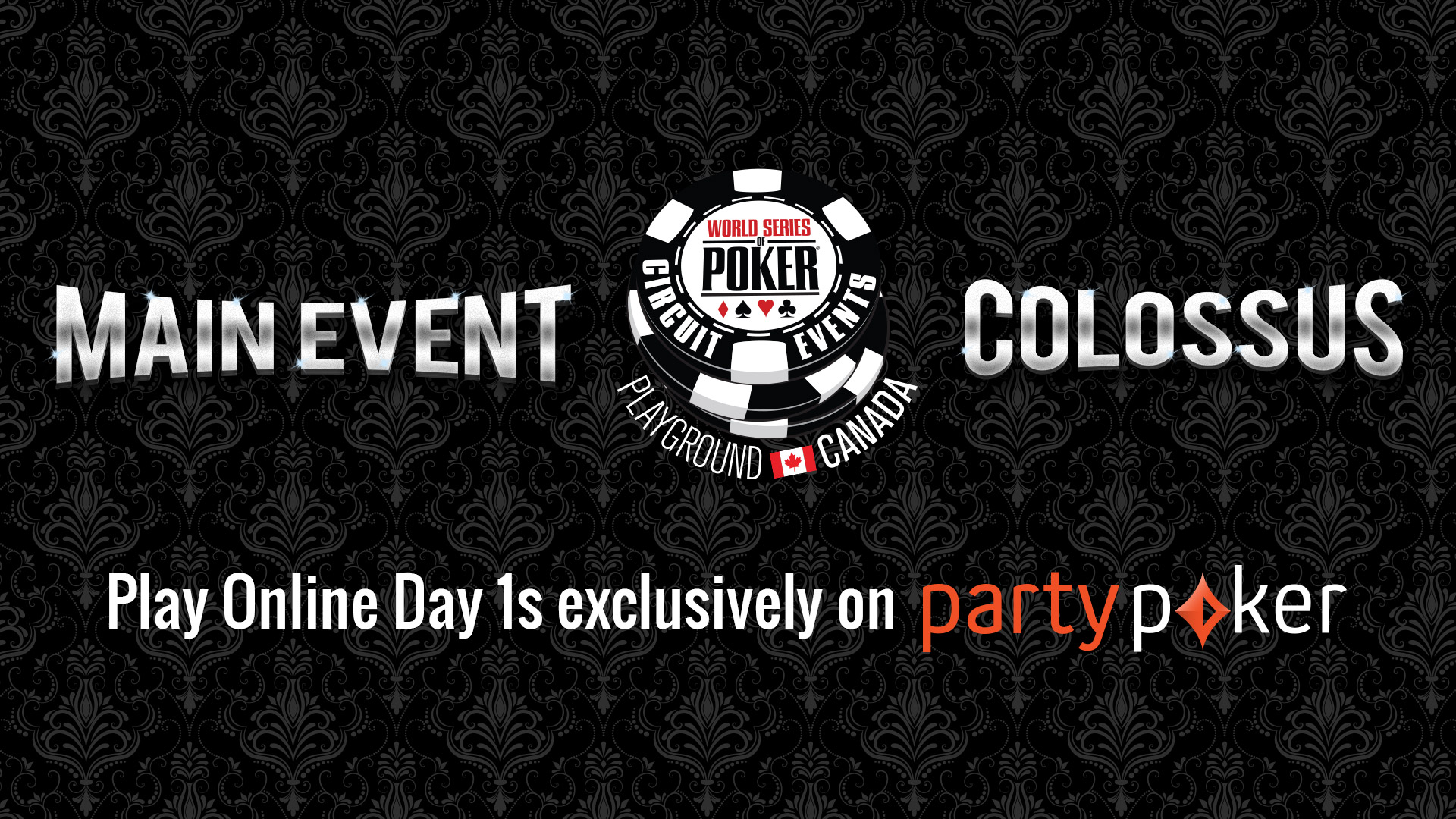 The WSOP-C Playground Online Day 1s are upon us!
