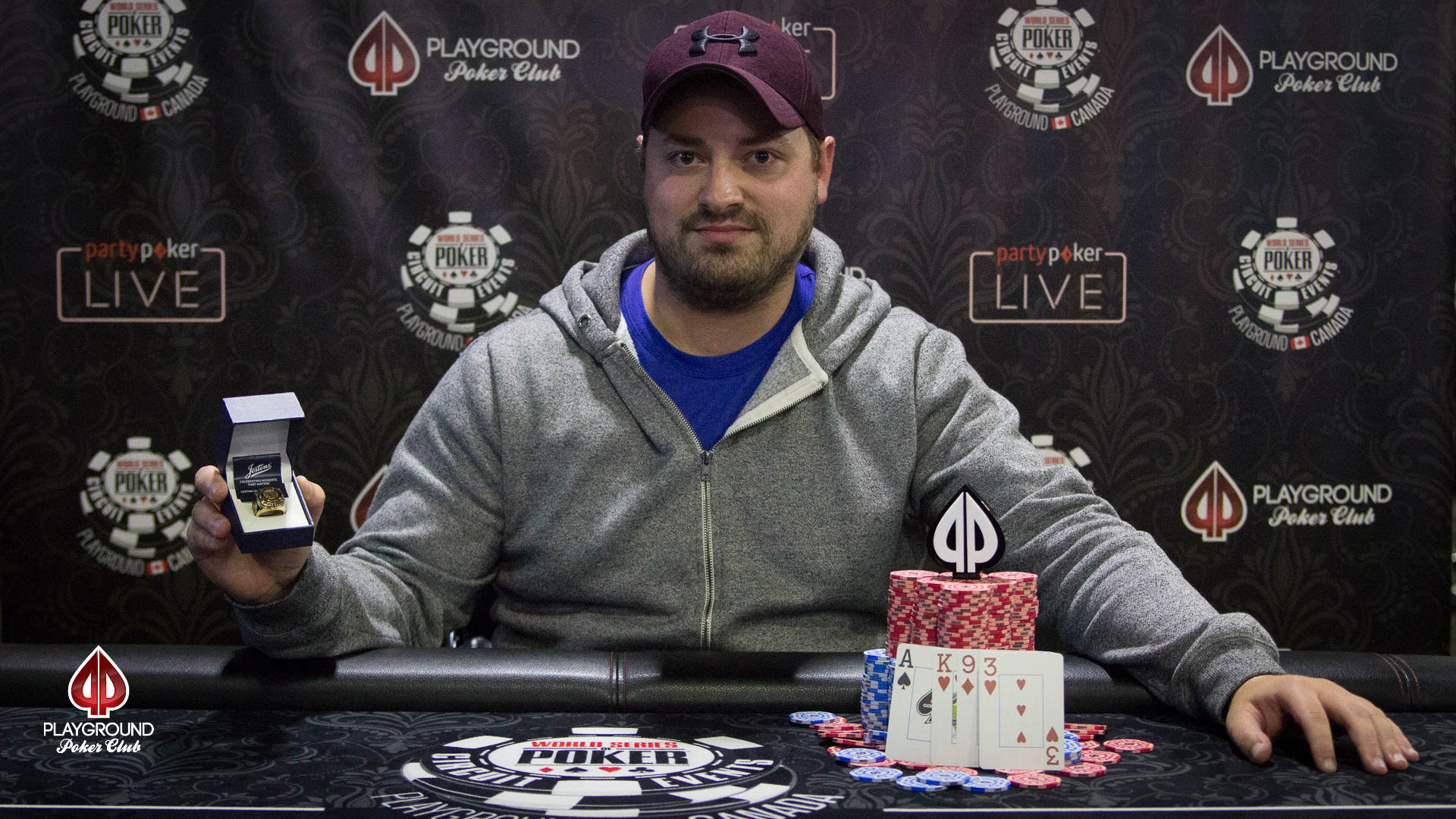 Gino Roland Frenette is the WSOP-C Playground PLO Champion!