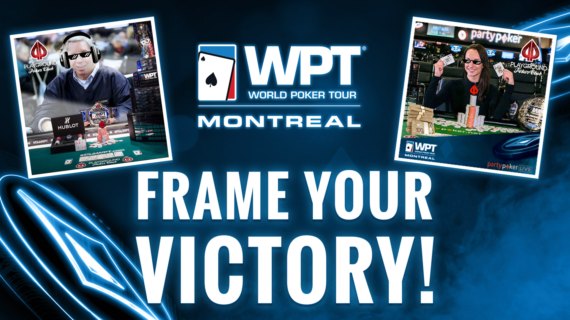 Frame your victory!