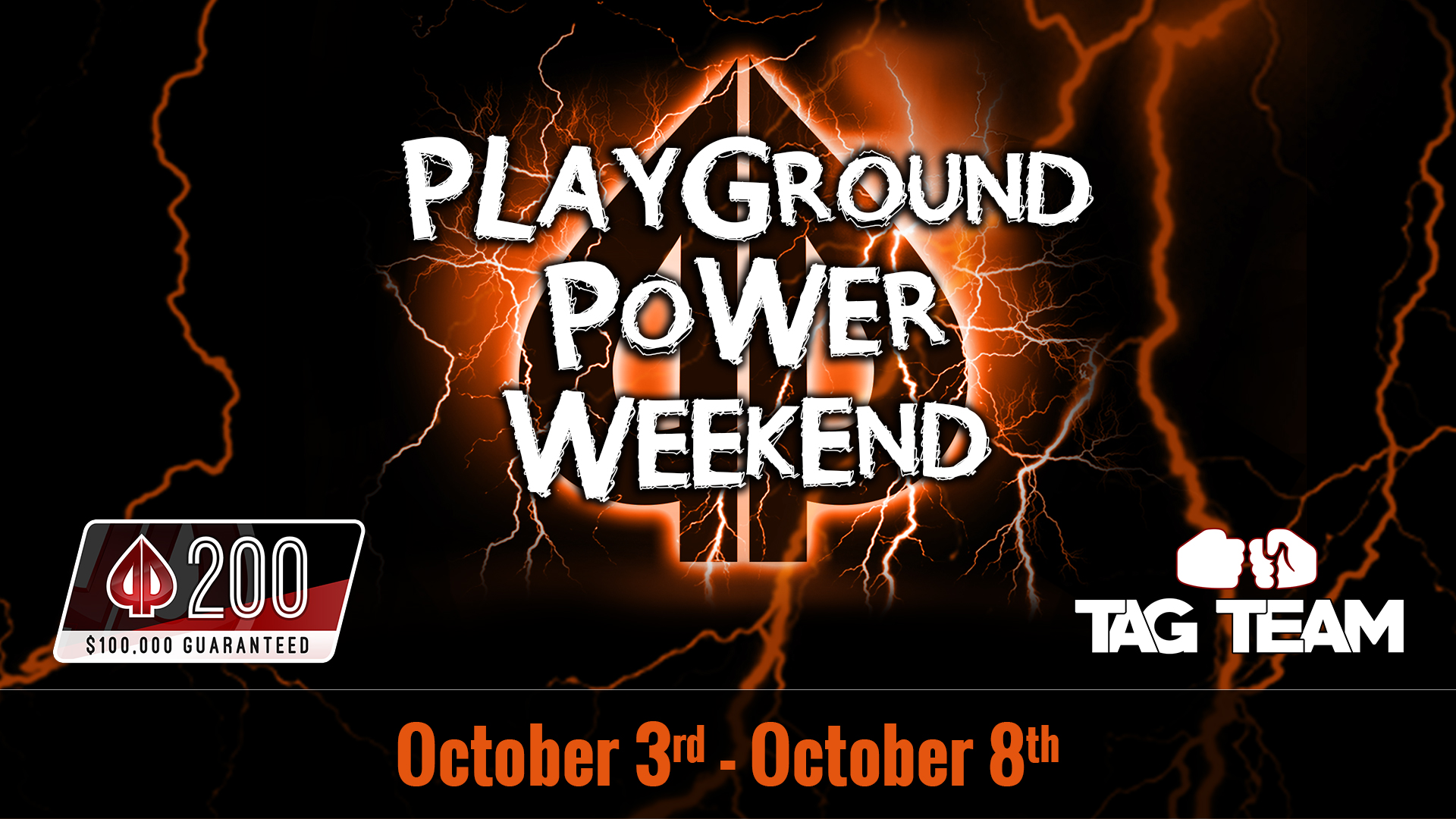 Special events in the October Power Weekend!