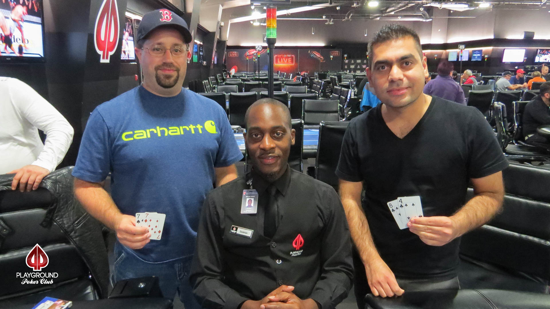 Straight flush over Quads – another BBJ hits!