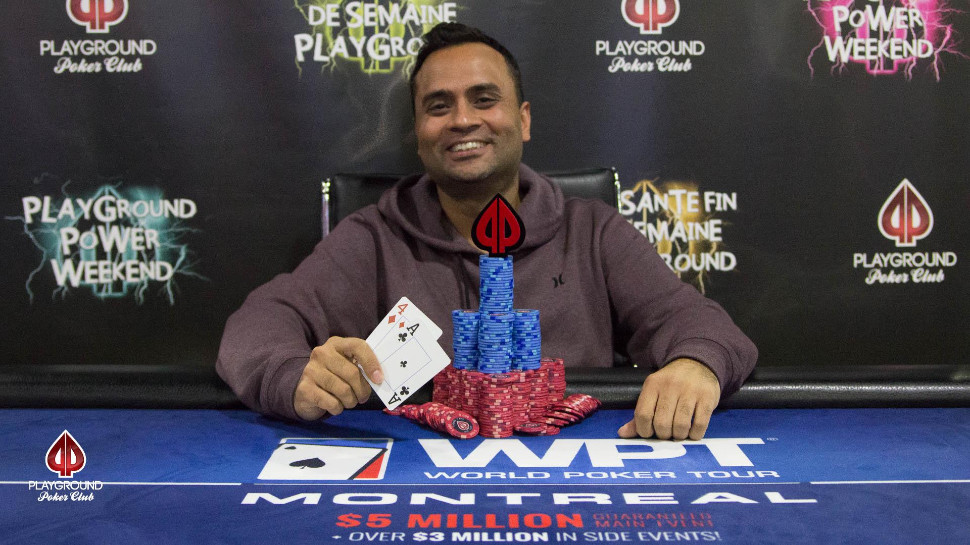 Charan Malhotra winner of Event #13 Bounty