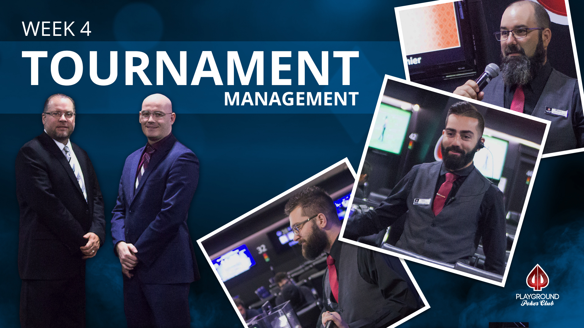 Week 4 – Tournament Management