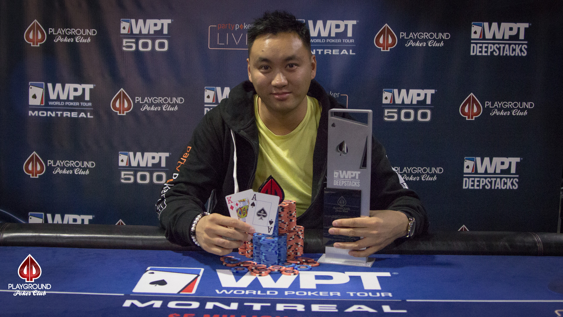 A WPTDeepStacks Champion has been crowned!