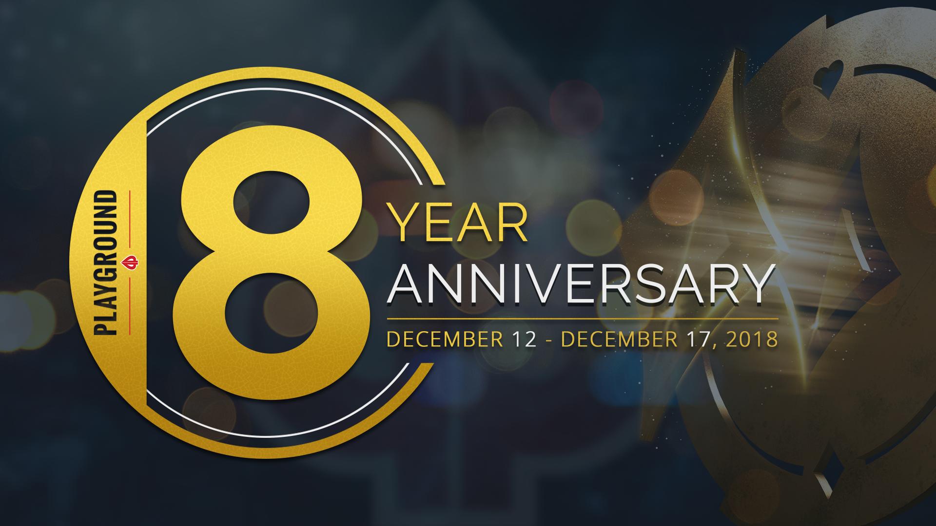 MILLIONS NA starts at Playground's 8-Year Anniversary!