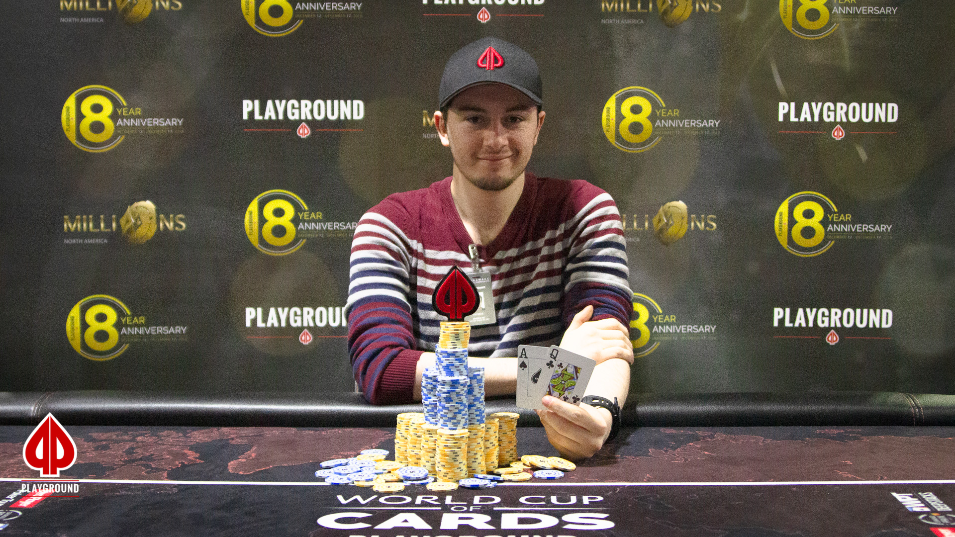 Patrick Filteau wins Event #1!