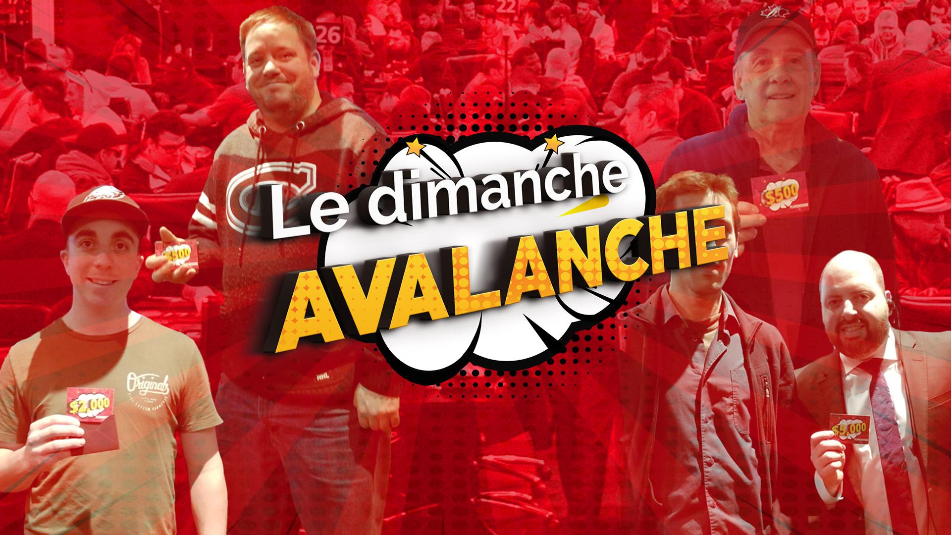 Le prochain Dimanche Avalanche est annoncé!