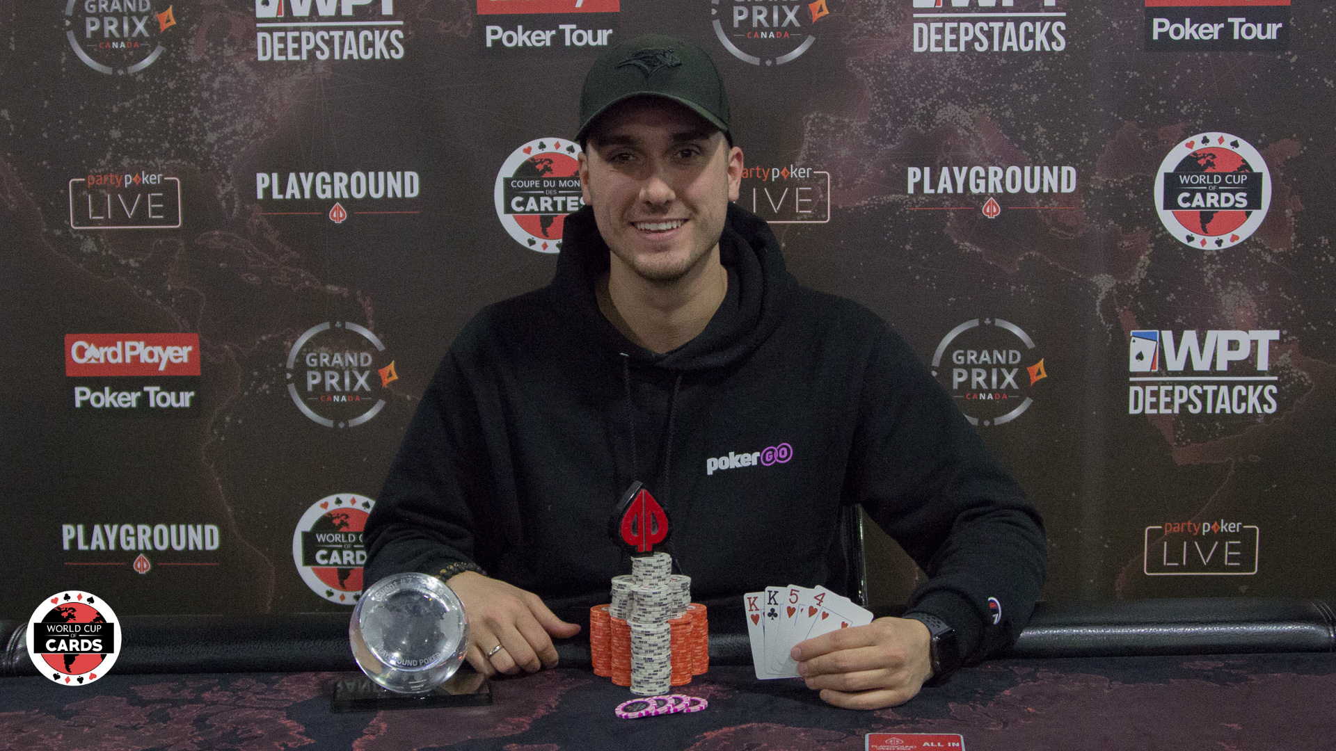 The PLO 50/50 Bounty champ is Jazz Smith!