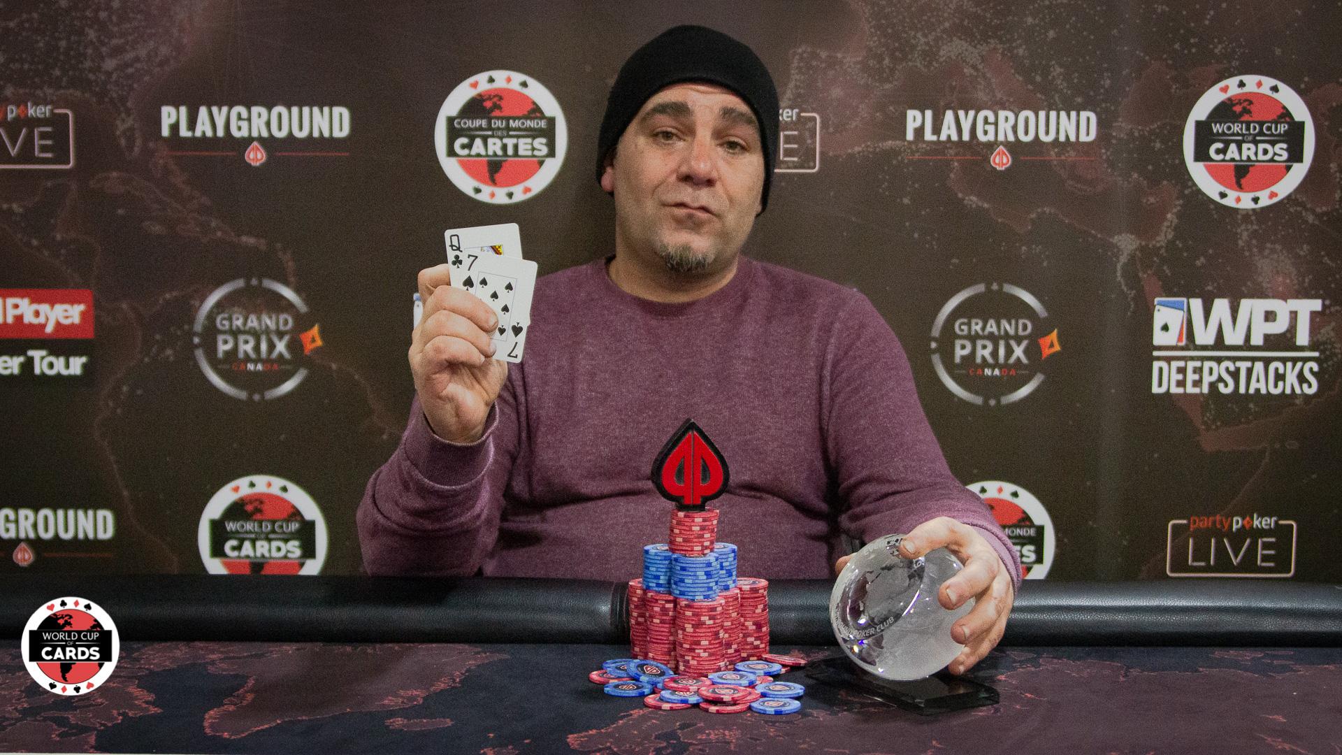 Patrick Bernier remporte l'Évènement No. 19