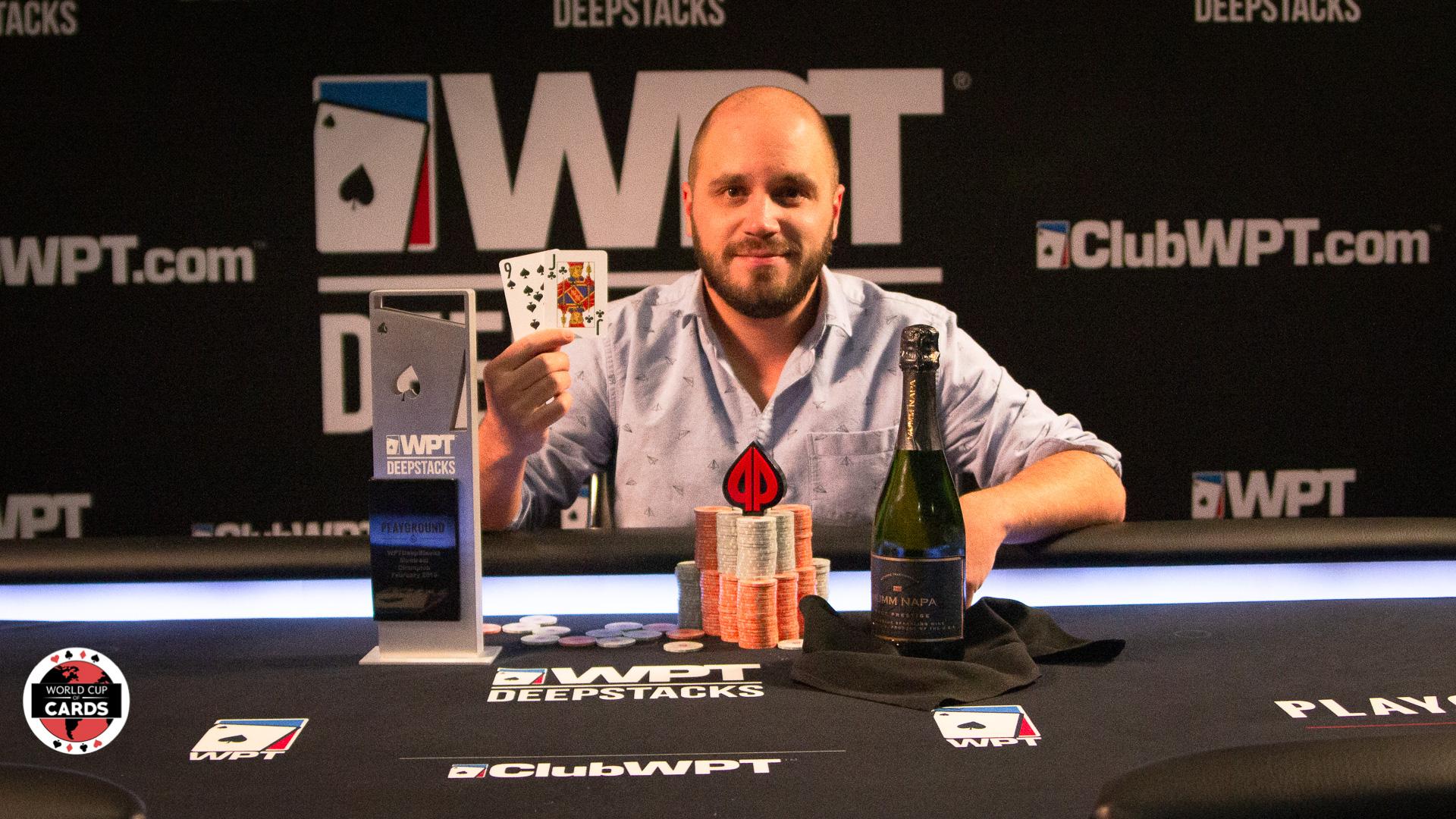 Martin Gaudreault-Rémillard est déclaré champion du WPTDeepStacks!
