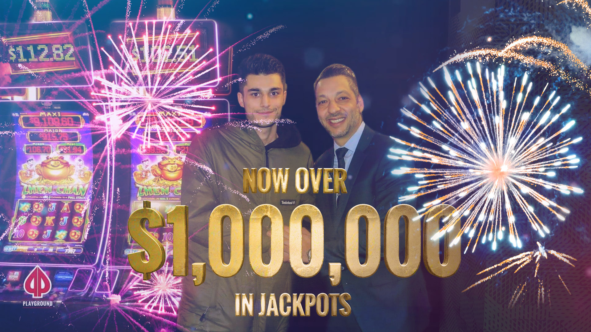 $1,000,000 in Jackpots awarded!