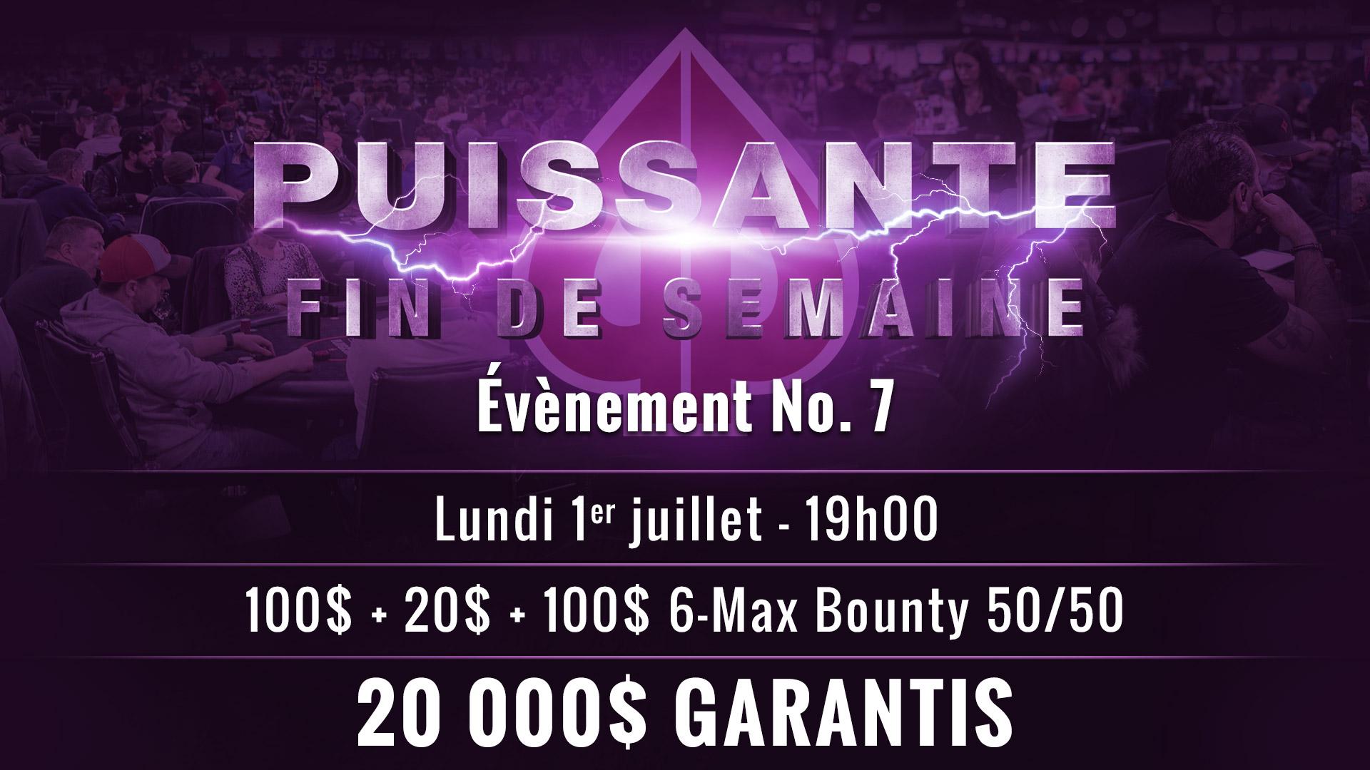 Info – Évènement No. 7