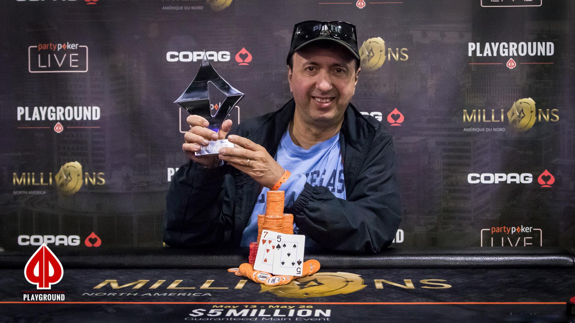 Marc Saddik remporte l'Évènement No. 10