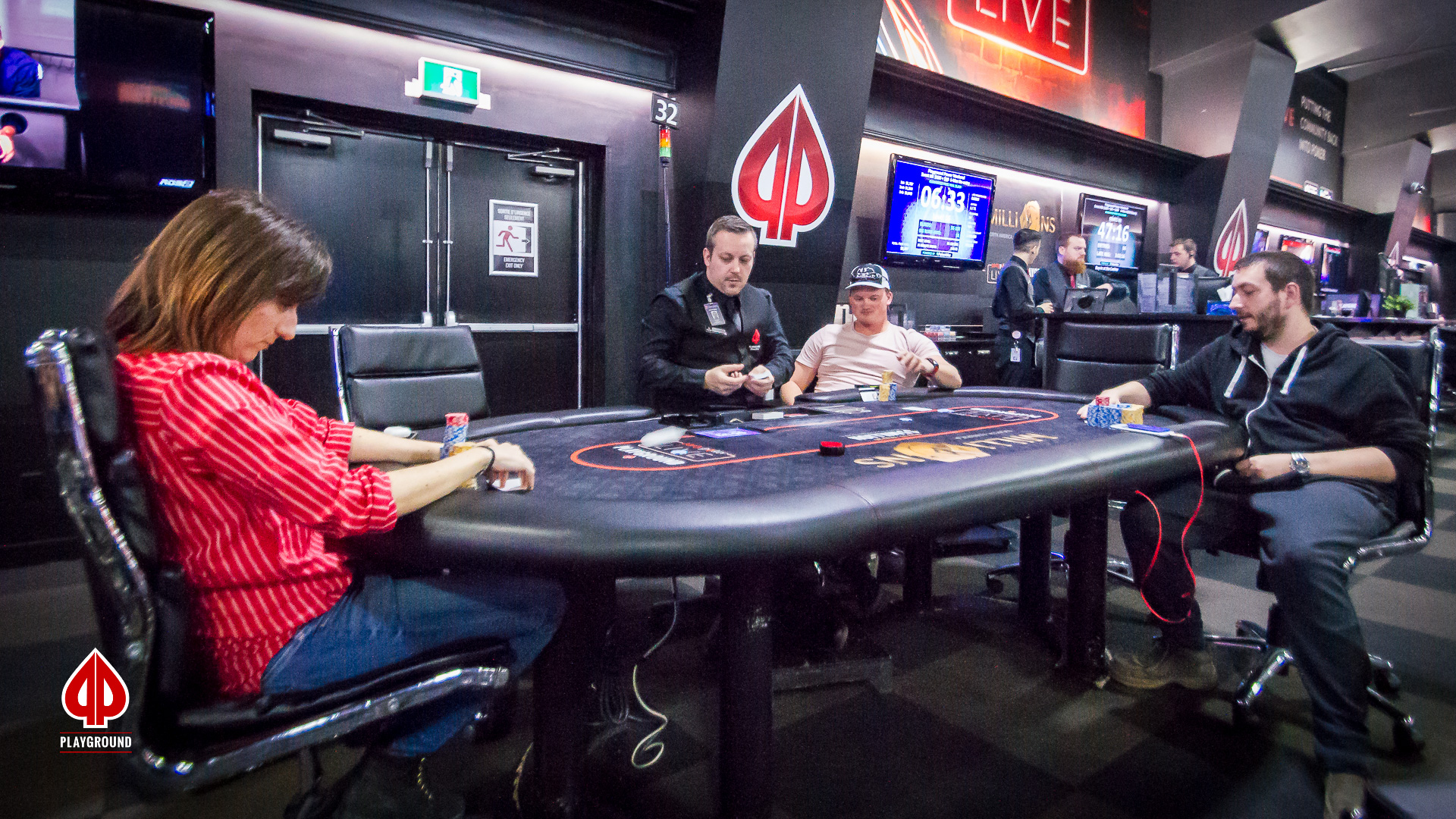 Three handed on final table