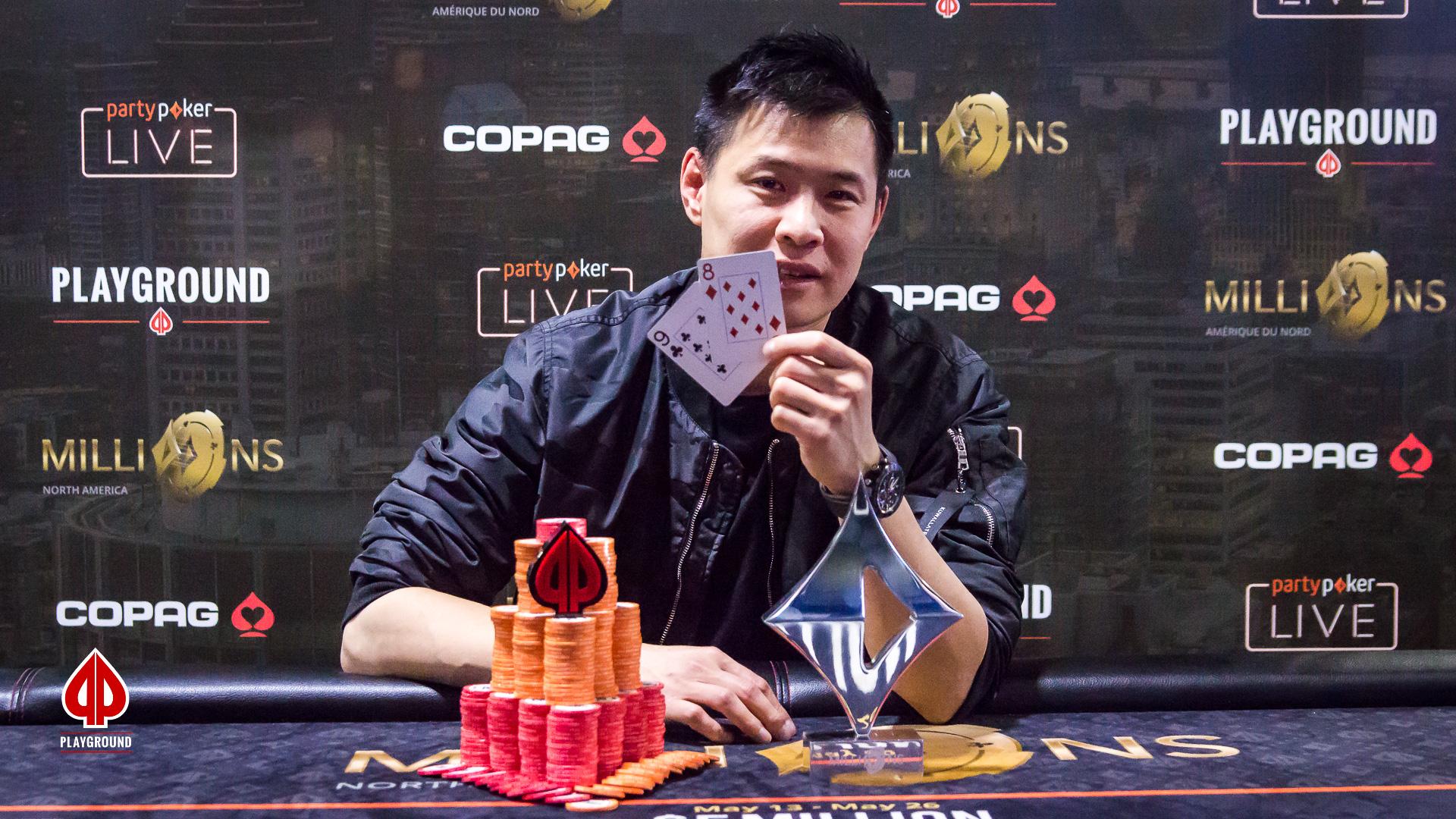 Kieu Lam Champion de l'Évènement No. 8, le Big Bounty