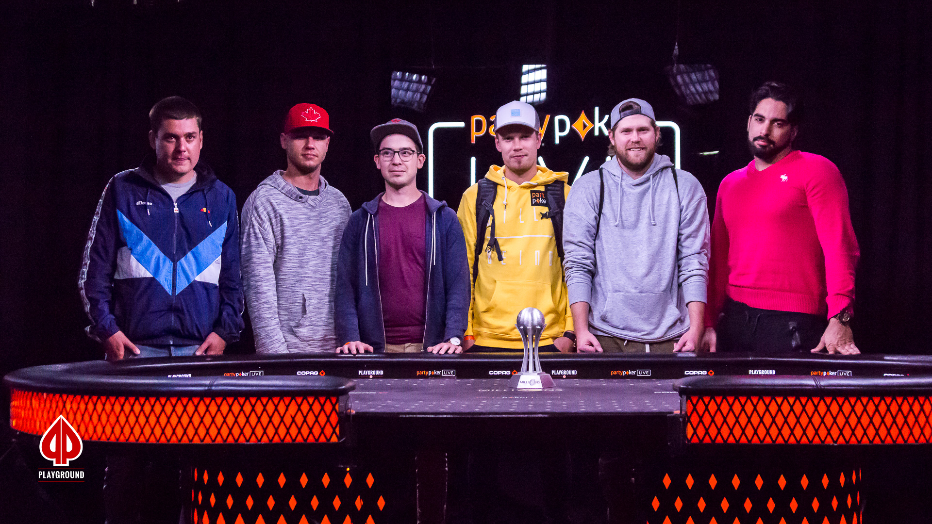 The MILLIONS North America final table