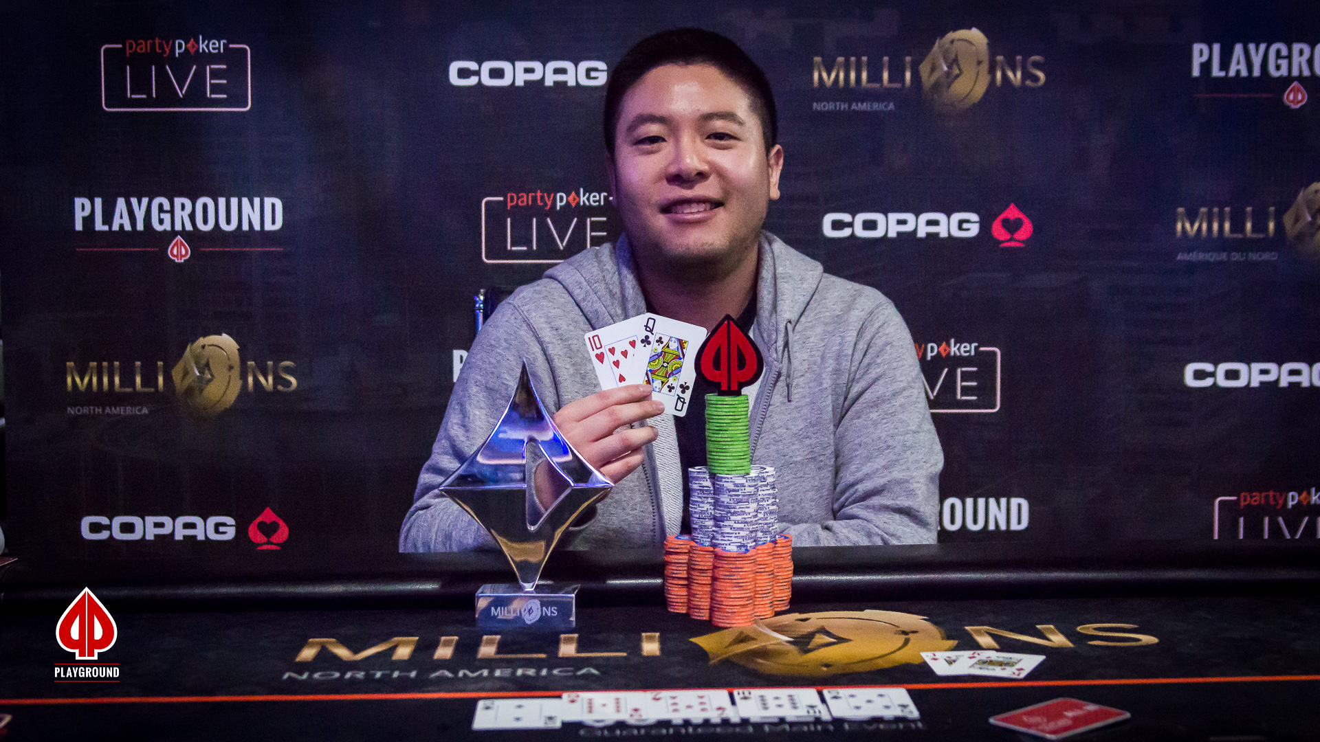 Brian Yoon remporte le 10 000$ + 300$ High Roller