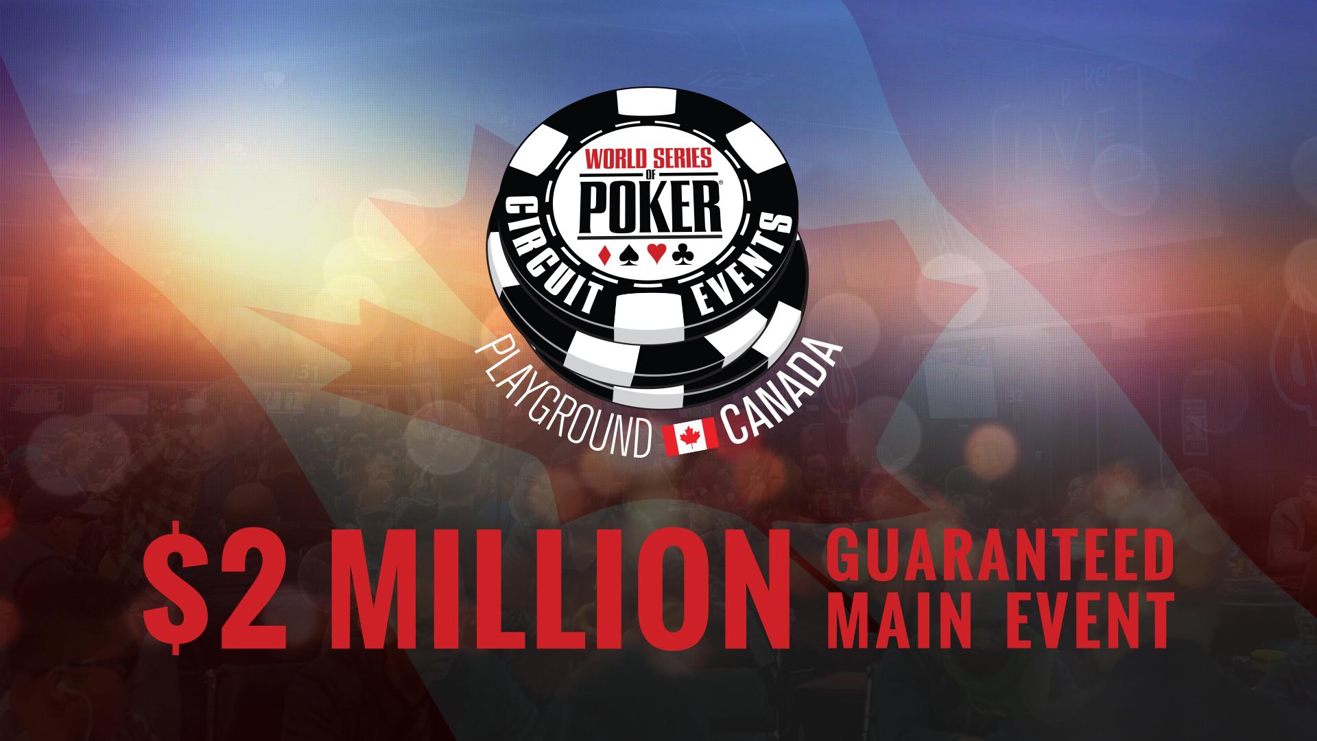 The World Series of Poker International Circuit returns