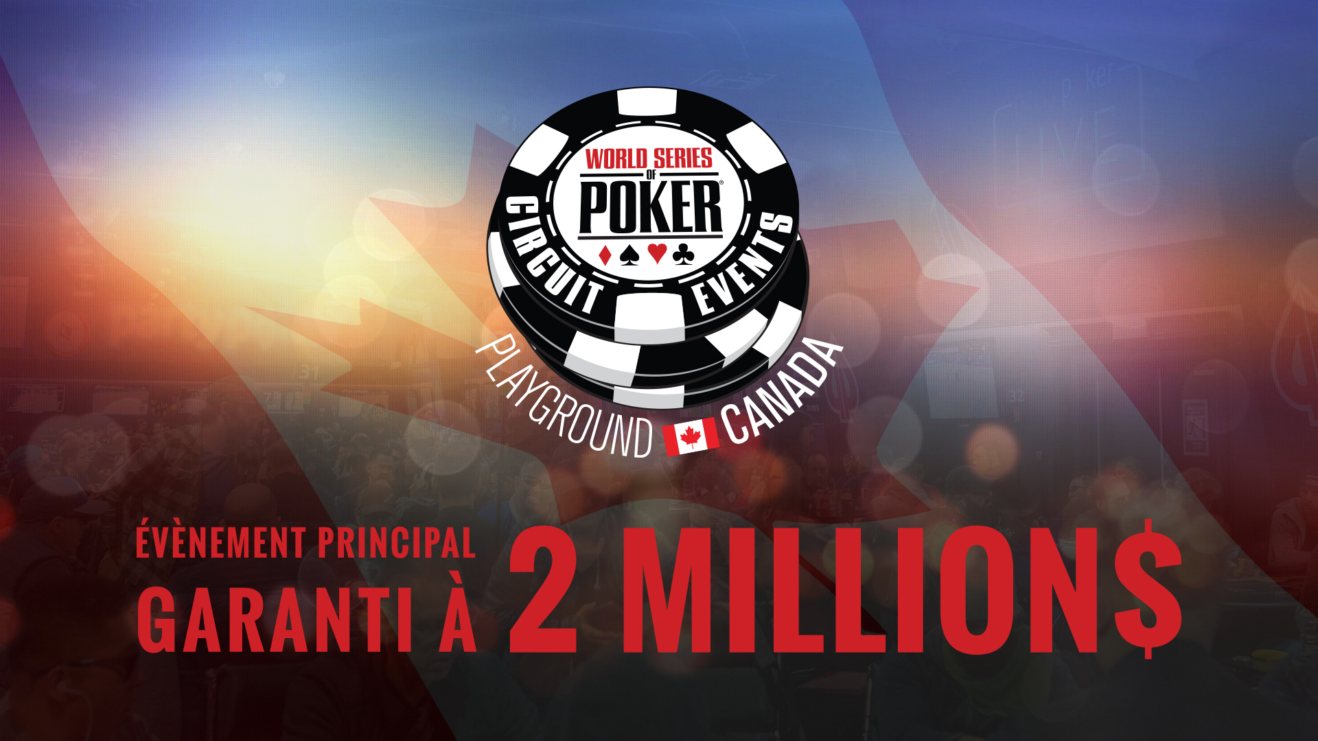 Le World Series of Poker Circuit International est de retour