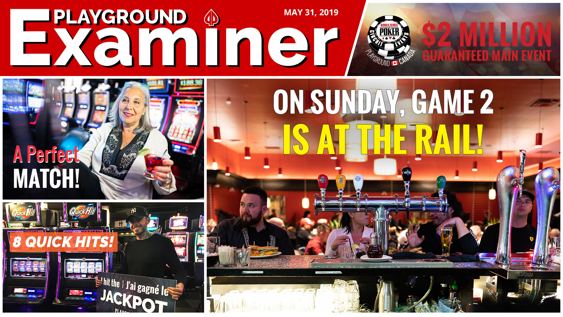 Sunday at The Rail… Go sports!