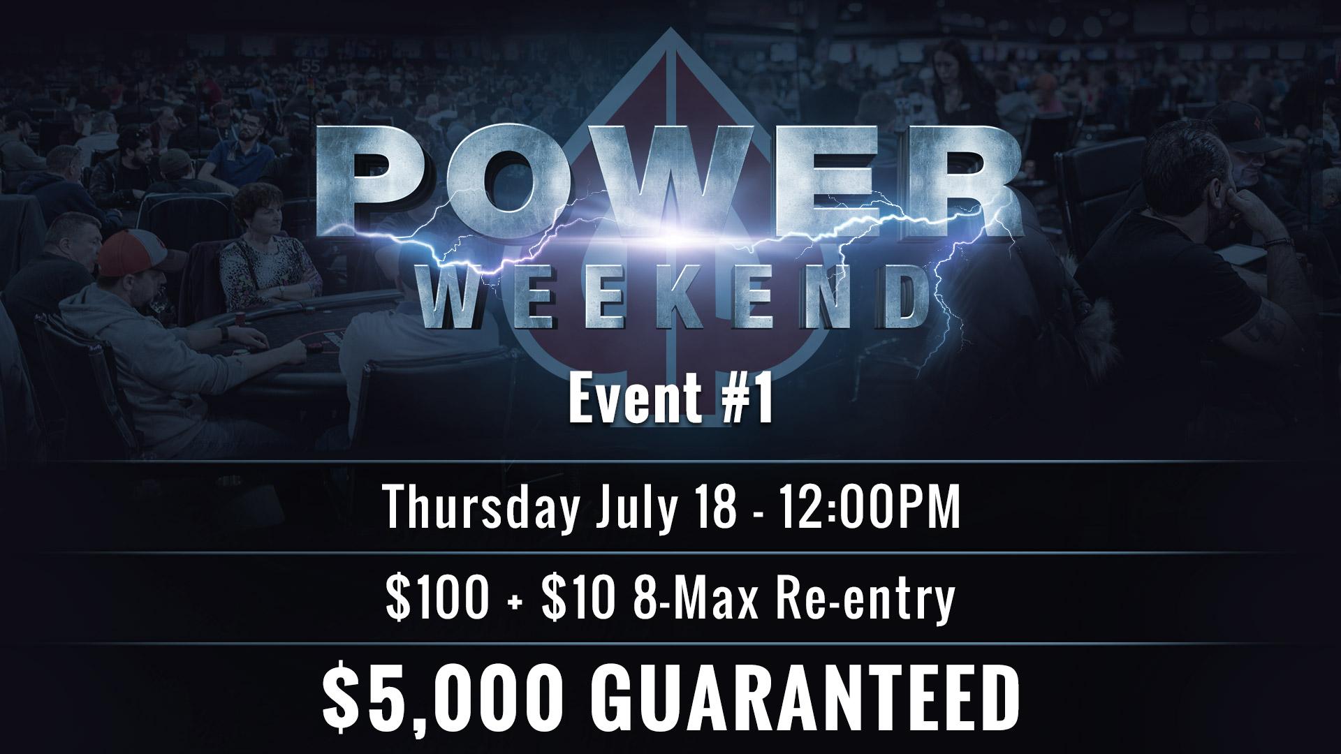 Event #1 Info