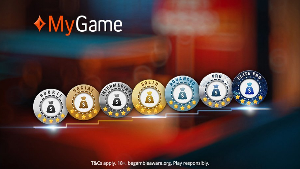 New MyGame capabilities on partypoker