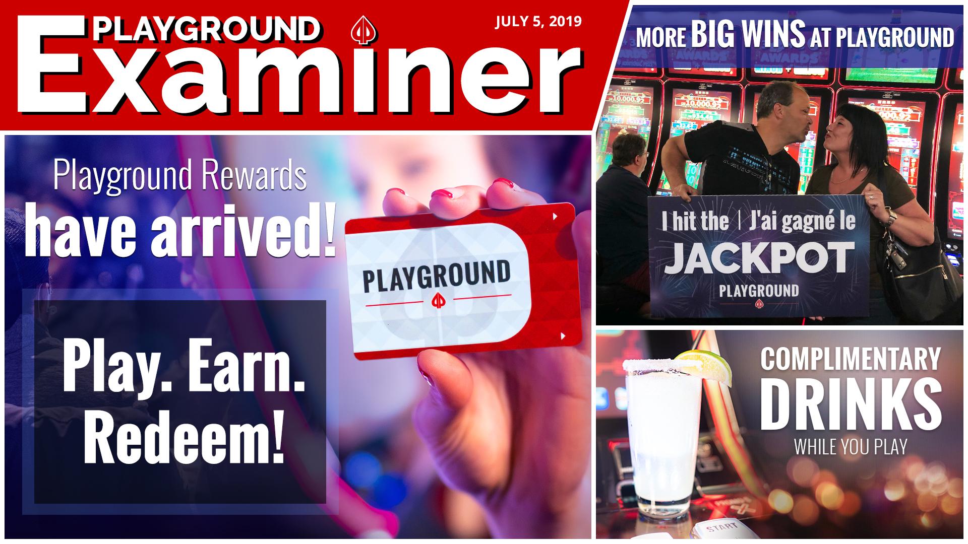 Playground Rewards have arrived!