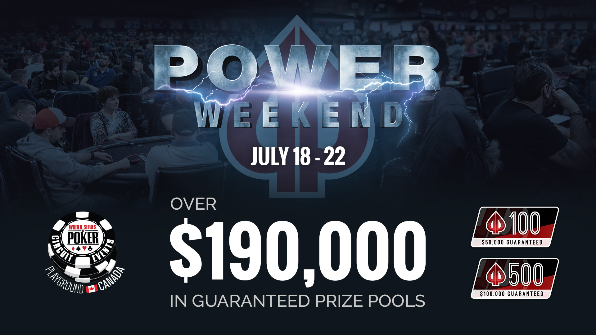 The July Power Weekend is just around the corner